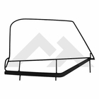 RT Off-Road Upper Door Frames for 1997-2006 Jeep Wrangler TJ, Sold as a Pair