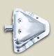 Door Bracket Kit, RH, Stainless Steel, 81-95 CJ & YJ