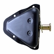 Door Latch Pin and Bracket, Left Side, 81-95 Jeep CJ and Wrangler by Omix-ADA