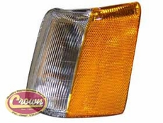 Driver Side Parking Lamp, fits 1993-98 Jeep Grand Cherokee ZJ