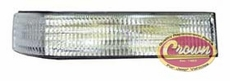 Driver Side Turn Signal Lamp, fits 1993-96 Jeep Grand Cherokee ZJ
