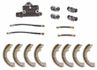 "Drum Brake Rebuild Kit, Fits 1953-66 CJ3B, CJ5, CJ6 and M38A1 with 9"" Brakes"