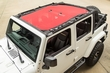 Eclipse Sun Shade, Red, 4-Dr, 07-15 Jeep Wrangler JK by Rugged Ridge