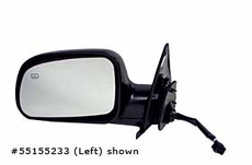 Electric Heated Mirror, Right Jeep Grand Cherokee (1999-2002); Right side; with Memory; Black.