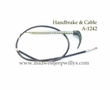 Emergency Brake Cable with Handle, 1941-1945 MB, 1941-1945 Ford GPW