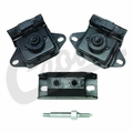 Engine Mount Kit for 1978-1986 Jeep CJ with 4.2L & 1974-1990 Jeep SJ with 4.2L