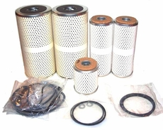 Engine Oil and Fuel Filter Set for M35A2 2.5 Ton and M54A2 5 Ton Trucks with LD-465, LDT-465, LDS-465 Engines