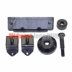 Engine, Transmission & Transfer Case Mount Kit Fits 1941-71 Jeep with 4-134 Engine & Dana 18 Transfer Case