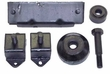 Engine, Transmission & Transfer Case Mount Kit Fits 1941-71 Jeep with 4-134 Engine & Dana 18 Transfer Case   638629K