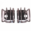 Tail Light Euro Guards, Stainless Steel, 76-06 Jeep CJ and Wrangler by Rugged Ridge
