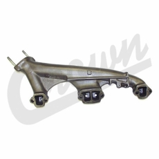 Right Side Exhaust Manifold, 1974-1991 Jeep 5.0L 304 Engines, Passengers Side