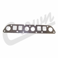 Exhaust Manifold Gasket, 2.5L 4 Cylinder Engine, fits 1983-2002 Jeep Models