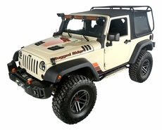 Exo Top, 2-Door, 07-17 Jeep Wrangler JK by Rugged Ridge