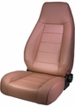 High-Back Front Seat, Reclinable, Spice, 76-02 Jeep CJ and Wrangler by Rugged Ridge
