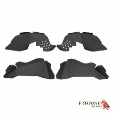 Fishbone Offroad Aluminum Inner Fenders for 2007 to 2017 JK Wrangler, Rubicon and Unlimited