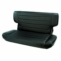 Fold and Tumble Rear Seat, Black Denim, 97-02 Jeep Wrangler by Rugged Ridge