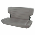 Fold and Tumble Rear Seat, Gray, 97-02 Jeep Wrangler by Rugged Ridge