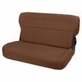Fold and Tumble Rear Seat, Nutmeg, 76-95 Jeep CJ and Wrangler by Rugged Ridge