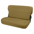 Fold and Tumble Rear Seat, Spice, 76-95 Jeep CJ and Wrangler by Rugged Ridge