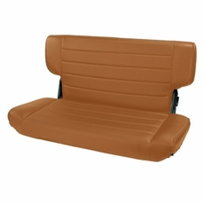 Fold and Tumble Rear Seat, Spice, 97-02 Jeep Wrangler by Rugged Ridge