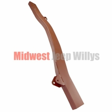 """Frame Repair Rail, Long, Front Left Side, Fits 1941-47 Jeep MB, CJ2A, 49"""" Inch Section"""