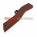 """Frame Repair Rail, Short, Front Left Side, Fits 1941-47 Jeep MB, CJ2A, 18-1/2"""" Inch Section"""