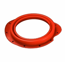 Front Axle Dust Boot without Zipper, Red Silicone, fits 5 Ton Military Trucks M54, M809, and M939 Series, 8758273SR