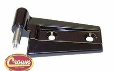 Front Door Hinge, Black, Left Side Upper or Lower, Front or Back, Full or Half Doors, 2007-11 Jeep Wrangler JK & Jeep Wrangler JK Unlimited