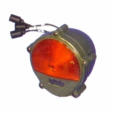 Composite Front Turn Signal, Parking Lamp with Blackout Function, 24 Volt, 11614156