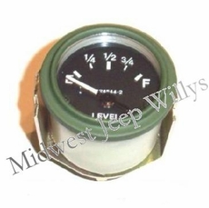 Fuel Gauge (24 volt) Fits 1950-66 Jeep M38, M38A1