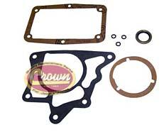Gasket and Seal Kit, fits 1967-75 Jeep CJ with T14A 3 Speed Transmission