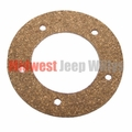 Gas Tank Sending Unit Gasket, 5 Screw Holes, for 1945-1956 CJ2A, CJ3A, M38, CJ3B