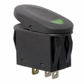 Green 2-Position Rocker Switch by Rugged Ridge