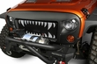 Grille Insert, Monster Teeth, 07-15 Jeep Wrangler JK by Rugged Ridge