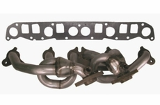 Header, Stainless Steel, 4.0L, 1999-2006 Jeep Models by Rugged Ridge