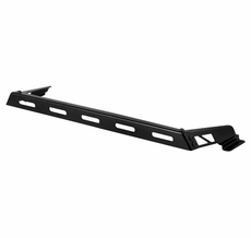 Hood Light Bar, Black, 07-17 Jeep Wrangler JK by Rugged Ridge
