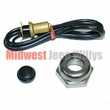 Horn Wire & Button Kit, Fits 1941-1949 Willys Jeep MB, GPW and CJ2A Models