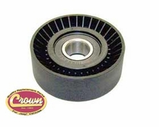 Idler Pulley, fits 2007-11 Jeep Wrangler JK & Wrangler Unlimited JK with 3.8L Engine