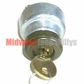 Ignition Switch With Keys, Fits 1941-1945 Willys Jeep MB, Ford GPW Models