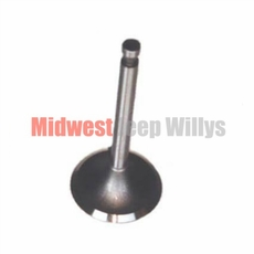 Intake Valve for Willys Jeep 4-134 CI F-Head Hurricane 4 Cylinder Engines, 1952-1971 Models