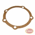 13) Rear Output Shaft Cap Gasket, fits 1963-79 Jeep CJ, C-101 Jeepster, J-Series & Wagoneer with Dana 20 Transfer Case