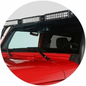 Jeep Light Bars and Brackets