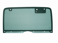 Jeep Wrangler YJ Hard Top Back Glass, (Heated), Fits 1987-95 Wrangler YJ