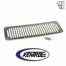 Kentrol Hood Vent (8 Holes) Polished Stainless Steel fits 1987-1995 Jeep Wrangler YJ