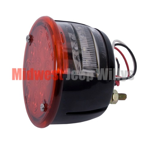 Led Tail Light Assembly Left Side 46 75 Willys And Jeep