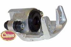 Left Rear Brake Caliper Assembly Jeep Wrangler (2003-2006) with Rear Disc Brakes, without pads