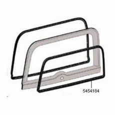 Liftgate Outer Glass Seal, 1976-1986 Jeep CJ7