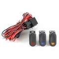 Light Wiring Harness Kit for 3 Lights by Rugged Ridge