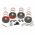 Drum Brake Overhaul Kit, 1941-1948 Willys MB, Ford GPW, CJ2A Models