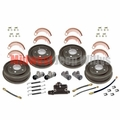 Drum Brake Overhaul Kit for 1948-1953 Willys Jeep CJ2A, CJ3A, M38 Models
